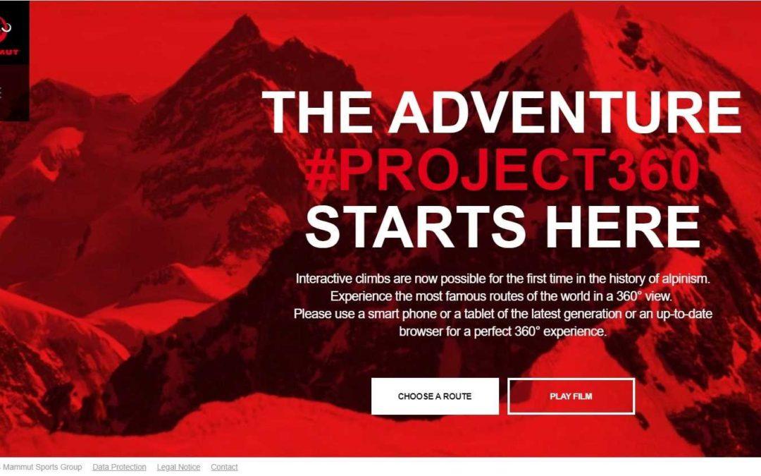 Analyse: Project360 de Mammut